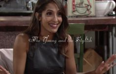 Shop Lily's black faux leather lace top from #TheYoungandtheRestless April 15, 2016 Episode- Lily Winters Ashby