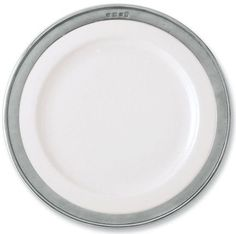 Match Convivio Dinner Plate, White - Set of 4 by Match. $404.00. The Convivio collection is simple and rustic with its combination of handmade Italian pewter and clean white porcelain. The look is traditional and elegant. The collection includes almost every piece needed to set and dress the perfect table. Stamped with hallmarks of manufacturer, tin-content, and region. All Match pewter is lead free and food safe. Low-heat dishwasher safe. Please do not expose t...