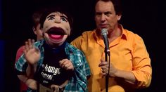 What does a performer from Second City Chicago look like with a puppet?  Go to http://thegrablegroup.com/speaker_gg/taylor-mason/  to learn more about Taylor Mason and The Grable Group.  See former Second City Chicago member Taylor Mason and his friend Romeo entertain the crowd in the Laugh Away Hunger comedy tour. Their conversation covers love, the Bible, Muppets, and work.