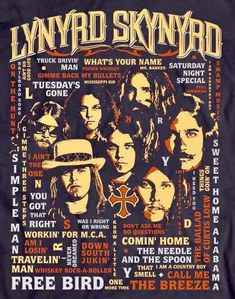 Discover recipes, home ideas, style inspiration and other ideas to try. Whiskey And You, Ronnie Van Zant, Vintage Concert Posters, Pochette Album, Greys Anatomy Memes, Rock Posters, Band Posters, Lynyrd Skynyrd, Rock Concert