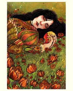 Snow White: Angela Rizza Illustration.