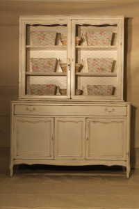 French Country / Shabby Chic China Cabinet / Armoire.
