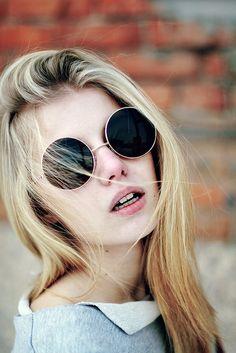 I need to invest in some John Lennon sun glasses.