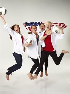 Behind The Scenes: U.S. Women's Soccer - Soccer Slideshows | NBC Olympics