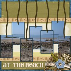 Trixie Scraps Designs - Digital Scrapbooking - Blog - Neat use of pics on tags