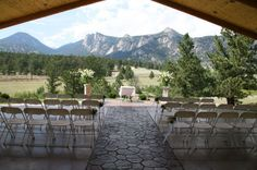 Estes Park Wedding | Black Canyon Inn--I've heard good things about this venue. Good one to check out while in town