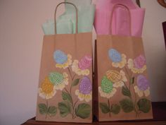 Hand Painted Bags by Elvira Nell