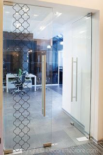 Superbe DecoretteStore.com: Decorating Glass Doors With Decals