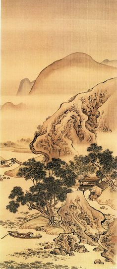 Chinese Art and Culture Paintings 清代 袁江