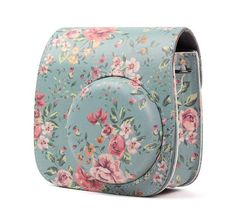 Fujifilm Instax Mini 8 9 Camera Accessories Flowers PU Leather Instant Camera Shoulder Bag Protector Cover Case Pouch – Pin's Page Instax Mini Case, Fujifilm Instax Mini 8, Polaroid Camera Case, Mini Camera, Camera Rig, Leather Camera Bag, Pu Leather, Leather Case, Instant Camera