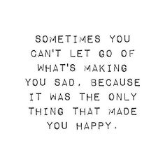 Sometimes You Cant Let Go