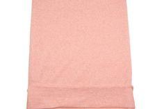 Heather Peach Open Weave Sweater Knit Fabric by by felinusfabrics