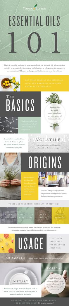 Essential Oils 101 -