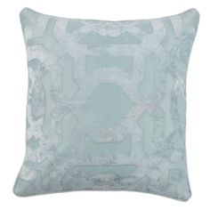 Our Modello Pillow in venetian blue is the perfect touch to your living room sofa or chair.