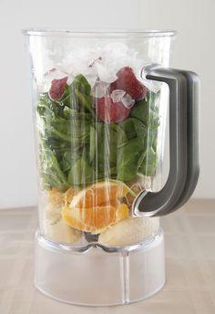 Green Smoothie + Kitchenaid Blender Review