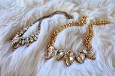 DIY :: Easy DIY Jewel Necklace