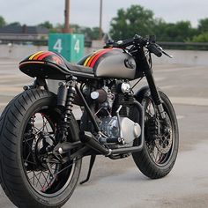 Blue-Green-Grey | caferacerdesign: Cafe Racer Design Source Honda...