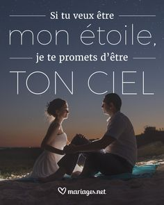 Je t'aime encore plus haut que les étoiles 🌟  #quote #citation #lovequote #love #amour #phrase #amor #mariage #wedding #boda #couple #citacion