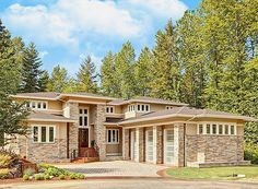 Spacious Contemporary - 23358JD | Architectural Designs - House Plans