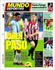 Los Titulares y Portadas de Noticias Destacadas Españolas del 20 de Noviembre de 2013 del Diario Mundo Deportivo ¿Que le pareció esta Portada de este Diario Español?
