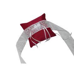 Ringkissen für Hunde - Hochzeit -  von ringkissen-shop auf DaWanda.com
