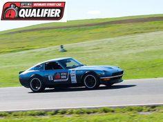 David Carroll qualified for the 2015 #OUSCI in his 1975 Datsun 280Z at #DriveOPTIMA Thunderhill