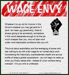 Wage Envy