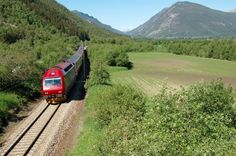Dovre rail line Norway