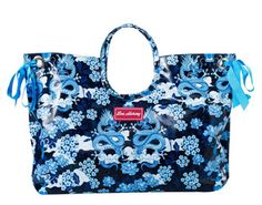 Lou Harvey - Beach Bag - Large - Dragon - Blue - I am desperately looking for this! Blue Bags, Large Bags, Diaper Bag, Purses, Dragon, Nice Ideas, Clutches, Wallets, Inspire