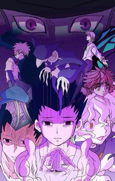 Meruem, Killua, Pouf, Komugi, Kite, Gon, and Pitou… Chimera Ant Arc ~Hunter X Hunter
