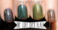 Kleancolor Holo Over Black