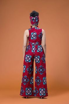 "Items similar to African jumpsuit for women's / women's Ankara jumpsuit /""kitenge jumpsuit / African print wax jumpsuit for women's on Etsy"