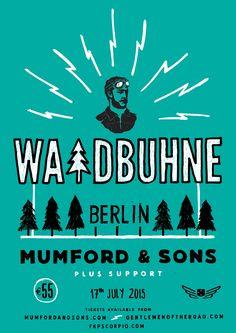 #MUMFORDANDSONS #WALDBÜHNE