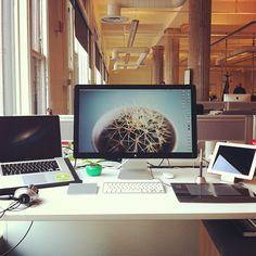 My setup at work
