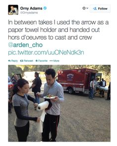 Orny Adam (Coach) shares some behind the scenes Teen Wolf