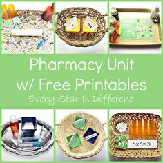Every Star Is Different: My Body Unit w/ Free Printables (Learn & Play Link Up)