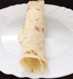 Glutenfreie Wraps ( maisfrei, hefefrei, vegan)