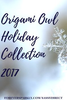 Origami Owl Holiday