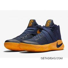"""Nike Kyrie 2 """"Cavs"""" Sneakers [Men's Midnight Navy / University Gold /University Red Size: Men's 8 Light signs of wear but in amazing condition! Basketball Sneakers, Sneakers Nike, Cavs Basketball, Basketball Outfits, Nike Shoe Store, Nike Kyrie 3, Converse Star, Nike Shoes For Sale, Discount Nikes"""