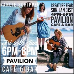 We have an awesome weekend of music coming up! Friday night Nancie Schipper starting at 6pm & Sunday afternoon Creature Fear kicking off at 4pm. It's our last weekend of live music so make sure you come and check it out!  #pavilioncafebar #live3280 #love3280 #warrnambool #livemusic #friday #sunday #weekend #summer #beach #greatoceanroad by pavilioncafebar