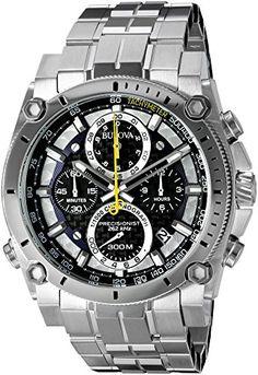 Bulova Men's 96B175 Precisionist Stainless Steel Watch Bu... https://www.amazon.com/dp/B0088BMYN4/ref=cm_sw_r_pi_dp_b4MExbDCX40S0