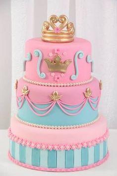 Resultado de imagen para bolo fake princesas