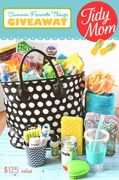 TidyMom Summer favorites giveaway!