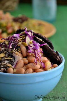 A Few Things I've Accepted to Live My Best Life and Warm White Bean Portobello Bowl