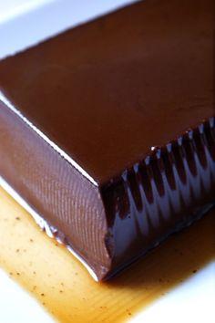 生チョコみたいなパンナコッタ