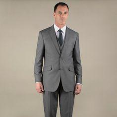 Occasions Grey plain weave regular fit 2 button jacket- at Debenhams.com