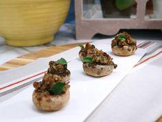 Stuffed Mushrooms recipe from The Kitchen via Food Network