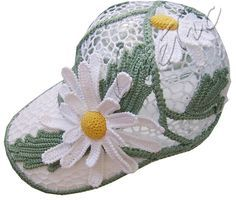 "Ravelry: SvetlanaTomina's cap ""Camomile"""