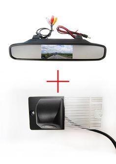 Color CCD Chip Car Rear View Camera for KIA SORENTO SPORTAGE + 4.3 Inch rearview Mirror Monitor #Affiliate