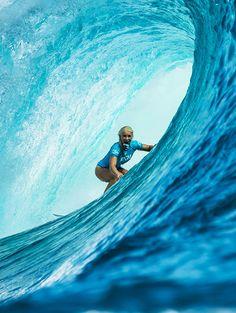 #LL @LUFELIVE #surfing Tatiana Weston-Webb...